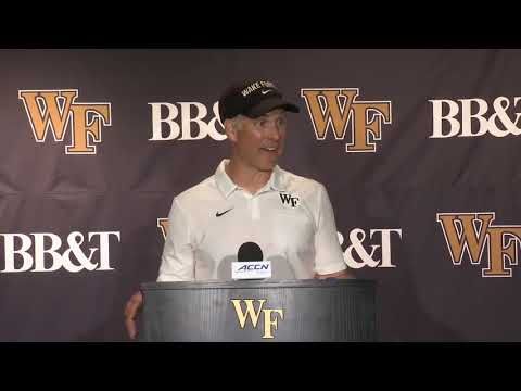 Dave Clawson Postgame Press Conference - Sept. 13