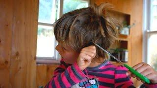 MY KIDS CUT ALL THEIR HAIR OFF