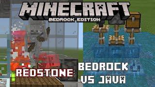 bedrock edition minecraft redstone - Thủ thuật máy tính