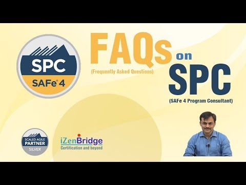 SAFe4 Program Consultant (SPC): FAQs - YouTube