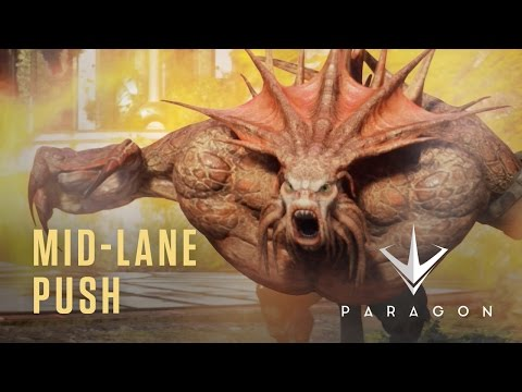 Mid-Lane Push - New Heroes Gameplay Video