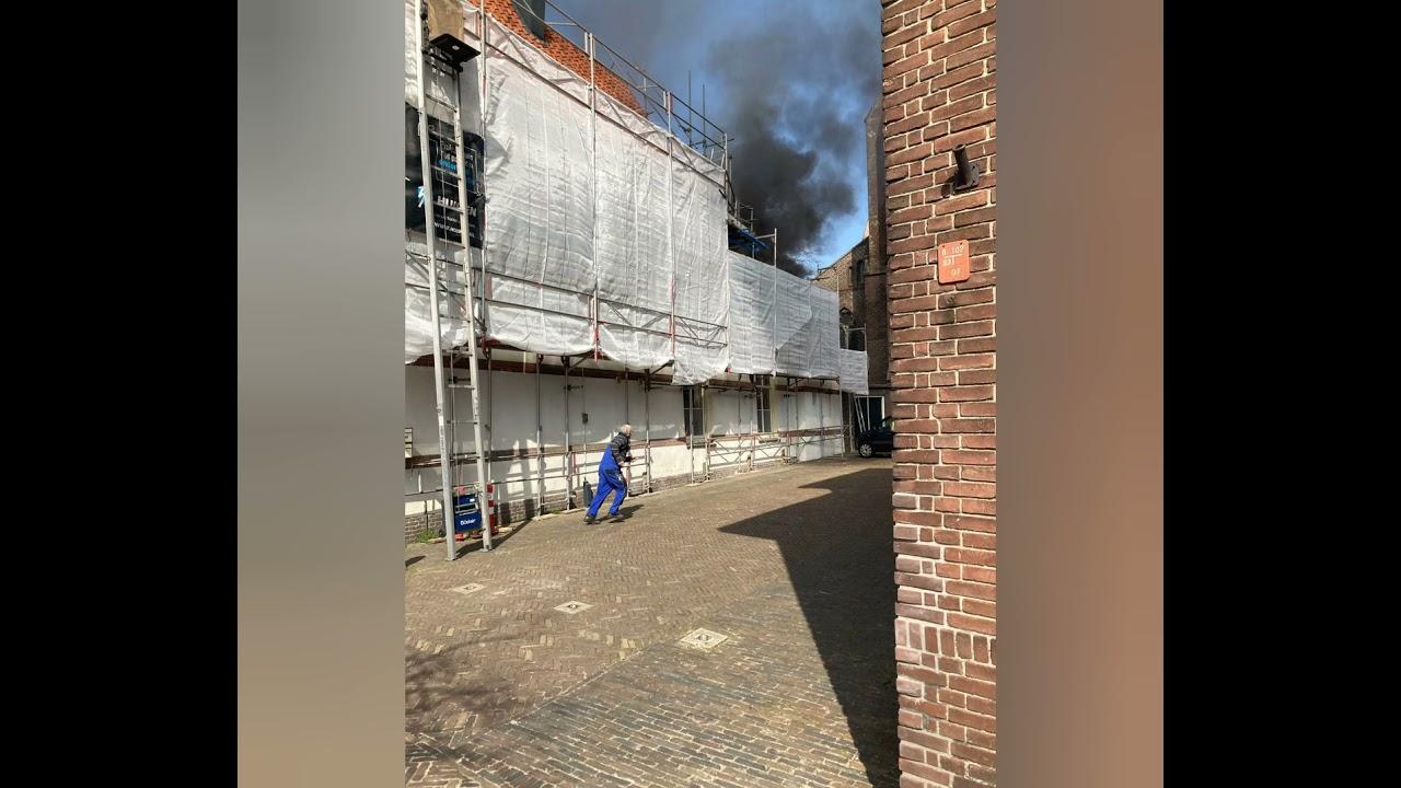 Prio 1 Grote brand Alkmaar