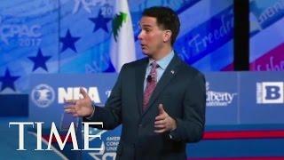 Scott Walker Advises Republicans To Ignore Protestors | TIME