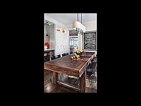 15 Ideen für Esszimmer Interieur Design in rustikalem Schick