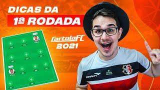 DICAS #1 RODADA | CARTOLA FC 2021 | BORA MITAR E VALORIZAR!!