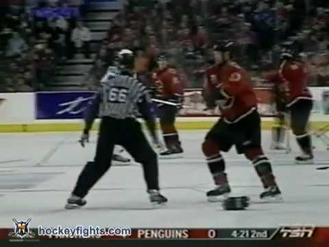 George Parros vs Chris Simon