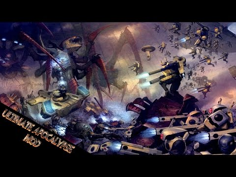Download Tyranid Attack On Tau Homeworld! - Ultimate Apocalypse Mod HD Mp4 3GP Video and MP3