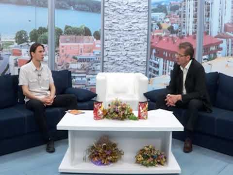 Teatar u tvrdjavi - najava programa - Marko Cvetkovic 10.07.