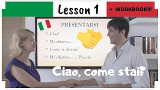 Learn Italian (EASY!) In 30 Days - LESSON 1 + PDF WORKBOOK [2020]