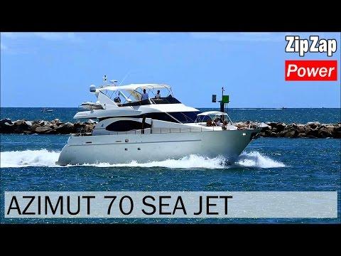 Azimut 70 Sea-Jet video