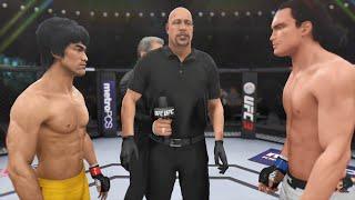 Bruce Lee Vs Steven Seagal 2 REMATCH!!! | EA Sports UFC 3