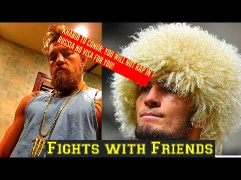 Khabib tells Conor Mcgregor YOU WILL NOT RAP IN RUSSIA