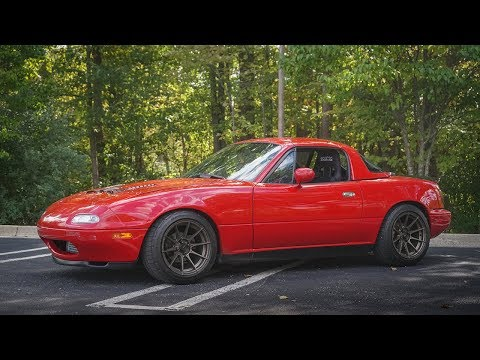 250whp Supercharged Miata Review!  The Perfect Racecar?