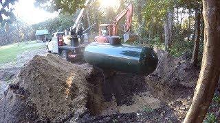 Installing my Underground Propane Tank
