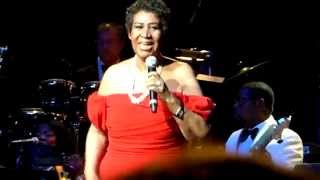 Aretha Franklin- Hooked On Your Love (Snippet) (Live 6/14/14)