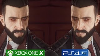 Vampyr - PS4 PRO vs Xbox One X Graphics Comparison