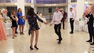 Танцевальный батл на свадьбе Виталия и Дарьи