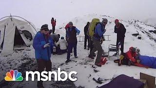Mount Everest Avalache Survivor Shares Story | msnbc