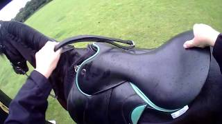 26k Endurance Riding, Friesian Horse Apollo's First Time With WEST RIDING At ASTLEY