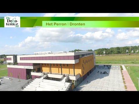 Het Perron verwacht veel Drontenaren bij open huis in nieuw schoolgebouw bij het station