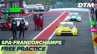RE-LIVE | Free Practice - DTM Spa-Francorchamps 2020