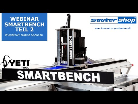 CNC Fräse SmartBench Webinar: Wiederholt präzise Spannen