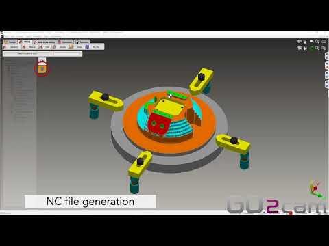 GO2cam für Roboter