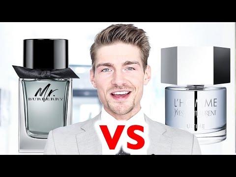 Mr Burberry vs Yves Saint Laurent L'homme Ultime