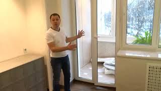 Новые решения в ремонте. Обзор дизайн интерьера квартиры.
