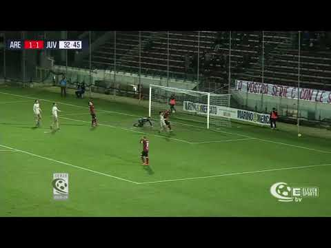 Arezzo-Juventus U23 1-1, la sintesi della partita