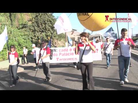Intersindical participa de protesto dos policiais civis em Santos
