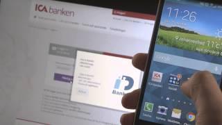 nytt mobilt bankid ica banken
