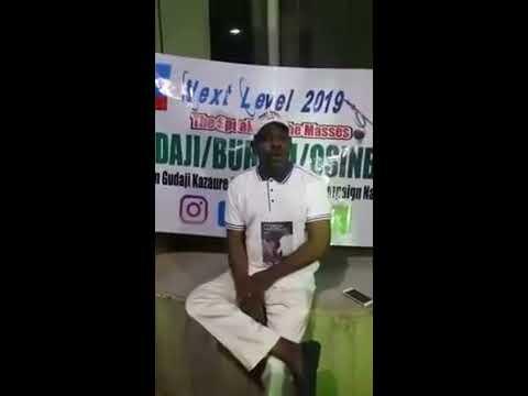 Hon Gudaji Kazaure Yayi Zazzagar Siyasa