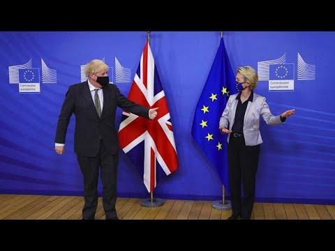 Brexit: Συμφωνία Τζόνσον – Φον ντερ Λάιεν να συνεχιστούν οι διαπραγματέυσεις…
