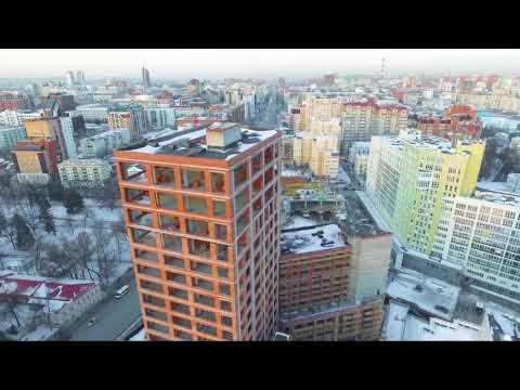 ЖК Уфимский Кремль с высоты птичьего полета (+ ближайшие достопримечательности Уфы). #уфа