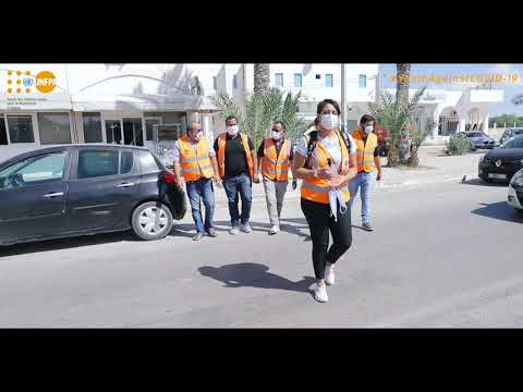 Youth Against Covid Tunisia - Youth engagement - Djerba