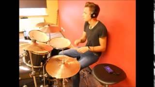 Josh Kaufman & Usher - Every Breath You Take (Drum cover by Davidičš).