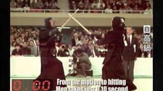 Kendo Turnier Angriffe in Zeitlupe