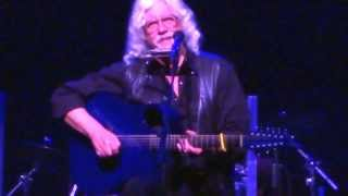 """Highway In The Wind""... Arlo Guthrie at Newton Theatre 2013"