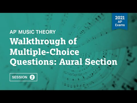 Walkthrough of Multiple-Choice Questions: Aural Section | Live ...
