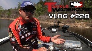 Mike McClelland Fishing The Spro McStick 115 At Table Rock Lake Part 2 - Tackle Warehouse VLOG #277