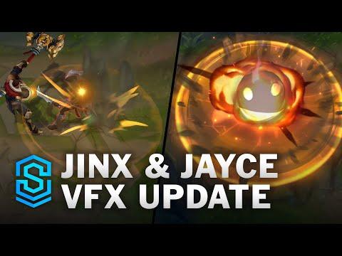 Jinx&Jayce 模組更新