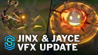 PBE LoL 11.22 : mise à jour des effets visuels pour Jinx et Jayce