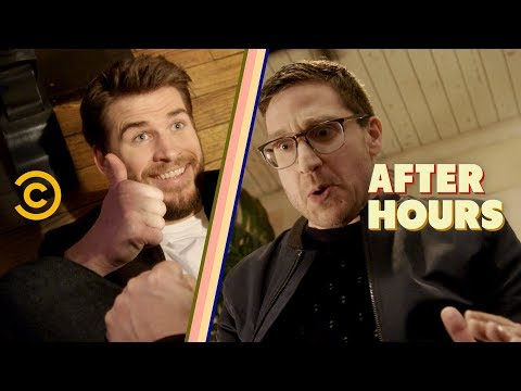 Liam Hemsworth Isn't Helping on This Date - After Hours with Josh Horowitz (видео)