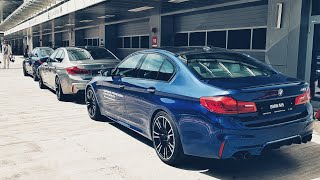 Новая BMW M5 F90 укачала меня на Треке! Впервые на большом МОТИКЕ!