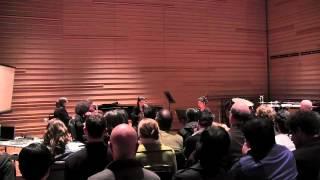 "Hotel Elefant in Concert - ""Dzov Yerku Kooynov [Sea of Two Colors]"" by Mary Kouyoumdjian"