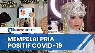 VIRAL Pernikahan Digelar Virtual Karena Mempelai Pria Positif Covid-19, Ada Kejadian Unik saat Akad