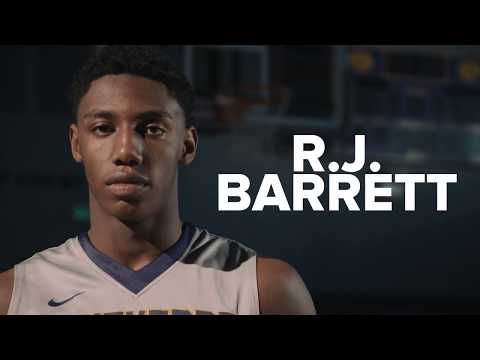 R.J. Barrett: 2017-2018 Gatorade National Boys Basketball Player of the Year