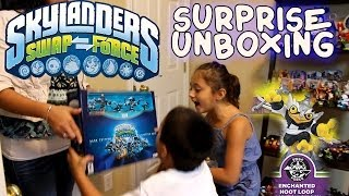 Skylanders Swap Force Surprise / Unboxing of Dark Starter Pack & Enchanted Hoot Loop pt.8