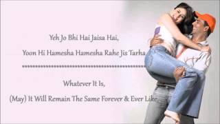 Teri Meri Kahaani Full Song English With Translation